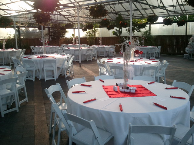 Table setting for private function