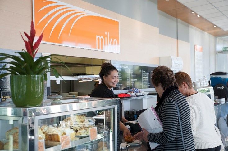 Cafe Miko at the Auckland Botanic Gardens