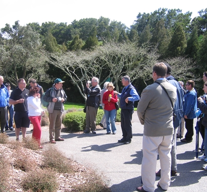 Guided garden walk