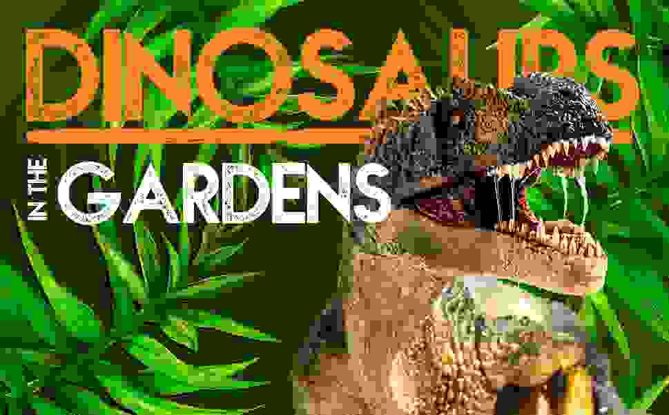 Dinosaur encounters at the Gardens image