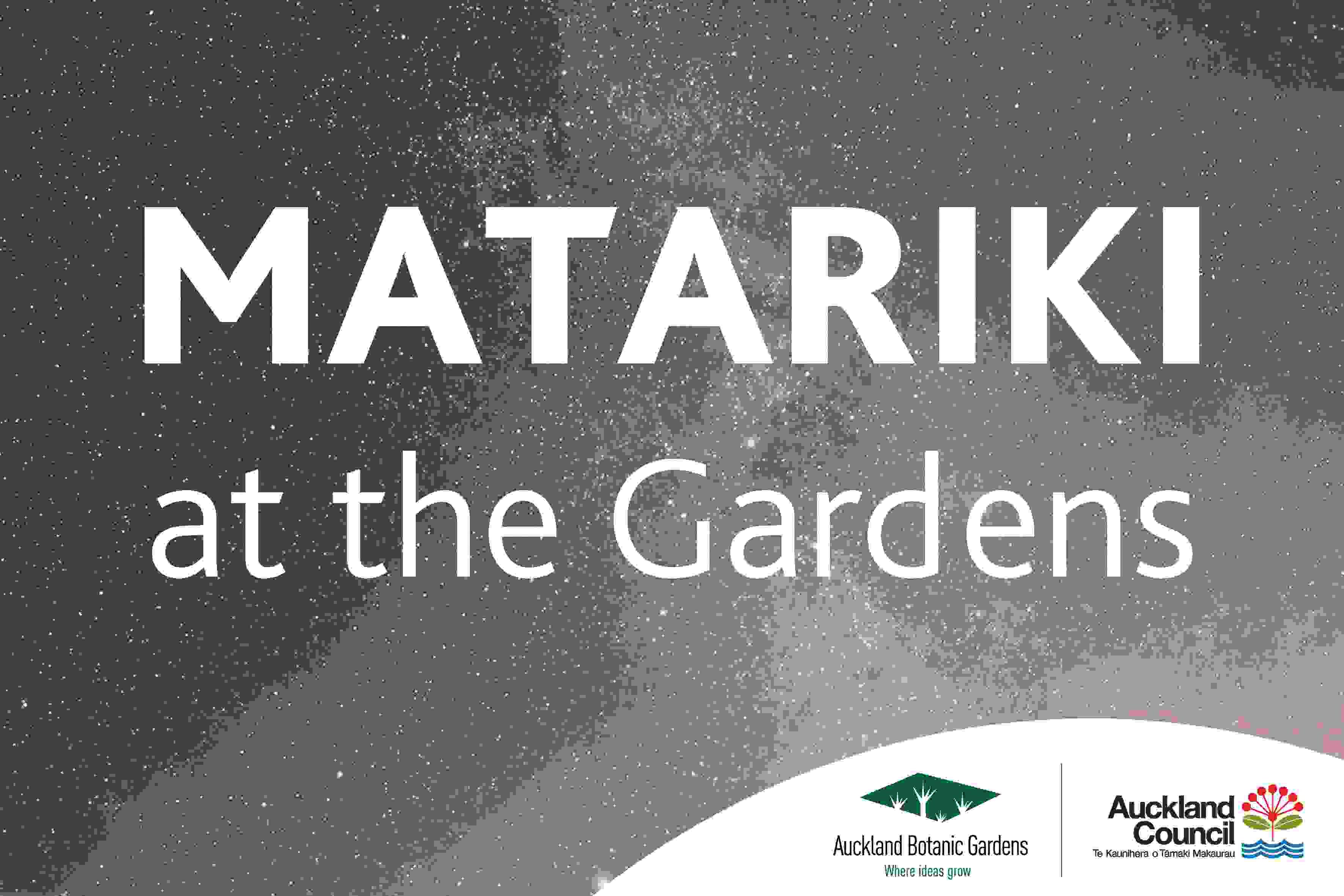 Matariki at the Gardens image